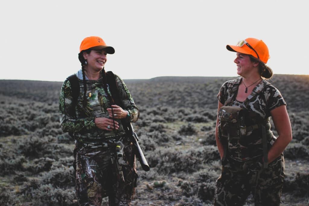 Two Women Hunters