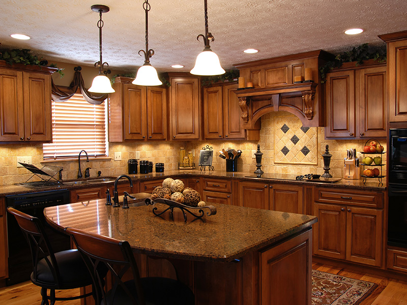 Nice Kitchen with Recessed Lighting
