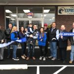 Express Laundry Center Ribbon Cutting