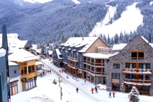 Winter in River Run Village at Keystone Resort