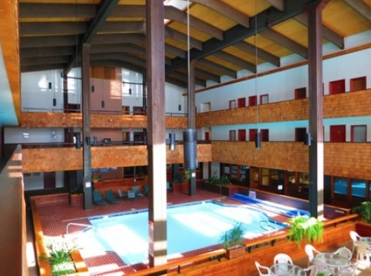 TS interior pool