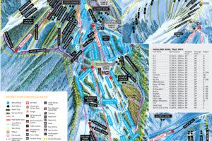 Aspen Highlands Map