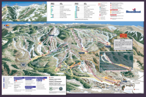 Steamboat 2018 trail Map