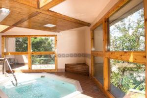Sagebrush hot tub