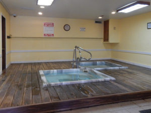 Lions gate hot tub