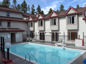 Lions gate outdoor heated pool