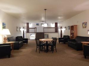 lions gate lounge area