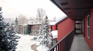 Steamboat springs balcony