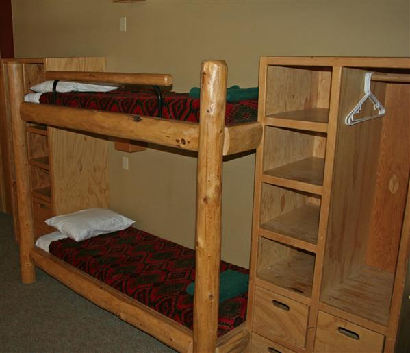 Young Life's Crooked Creek Ranch Bunk Rooms