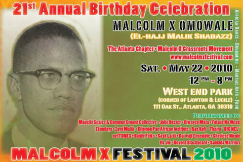 pgp182:The 21st Annual Malcolm X Festival in Atlanta…
