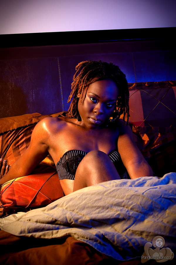 COCOliscious wakes up with the color lights on…