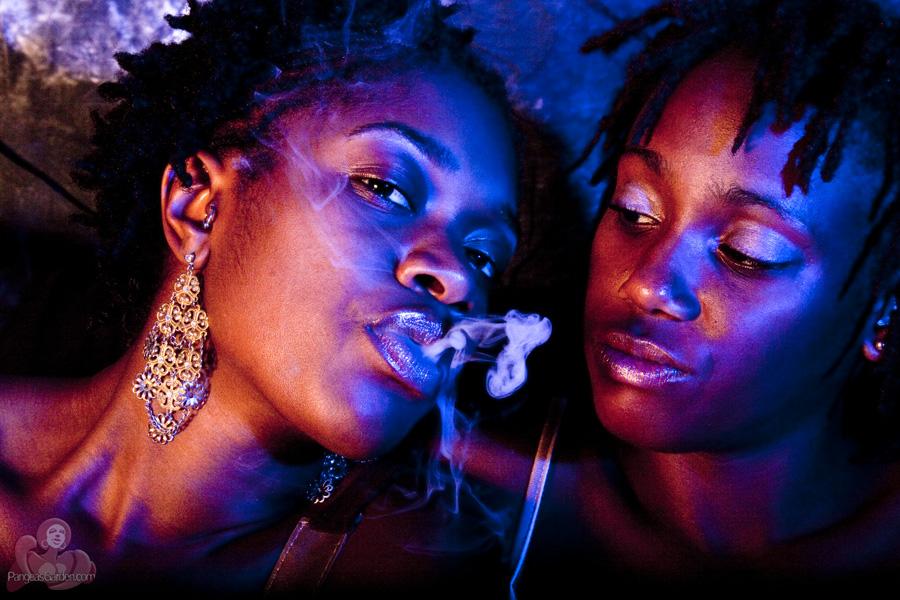 Smoke… with GreenRose & FlowerChild
