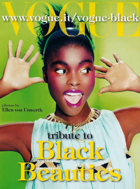 pgp255: Vogue Italia's tribute to Black Beauty