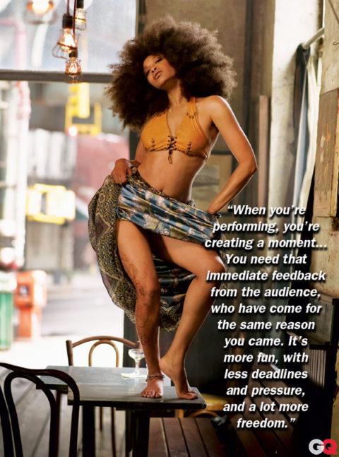 Soundcheck: Erykah Badu in GQ