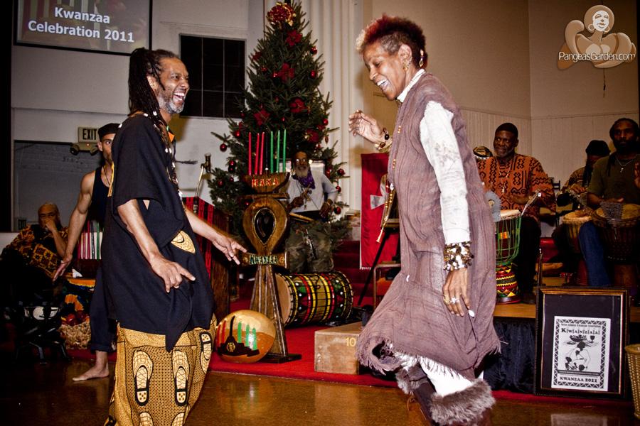 Imani and a KWANZAA celebration...