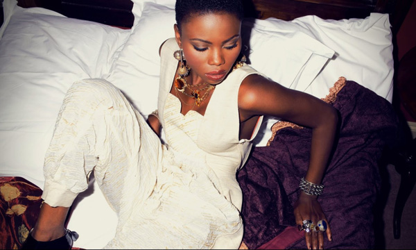 Sycha Mubiaya's cover shoot