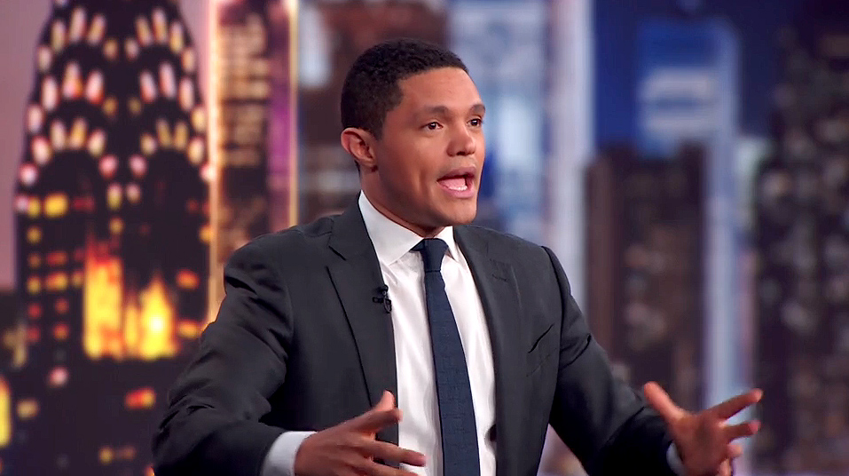 PGTV: Trevor Noah keeps dropping knowledge in between scenes