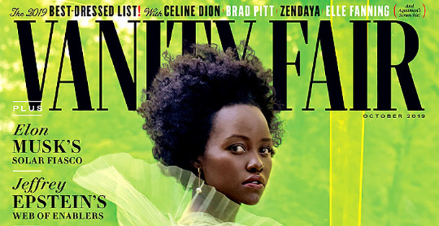 Vanity Fair's For the Love of Lupita Nyong'o by Jackie Nickerson