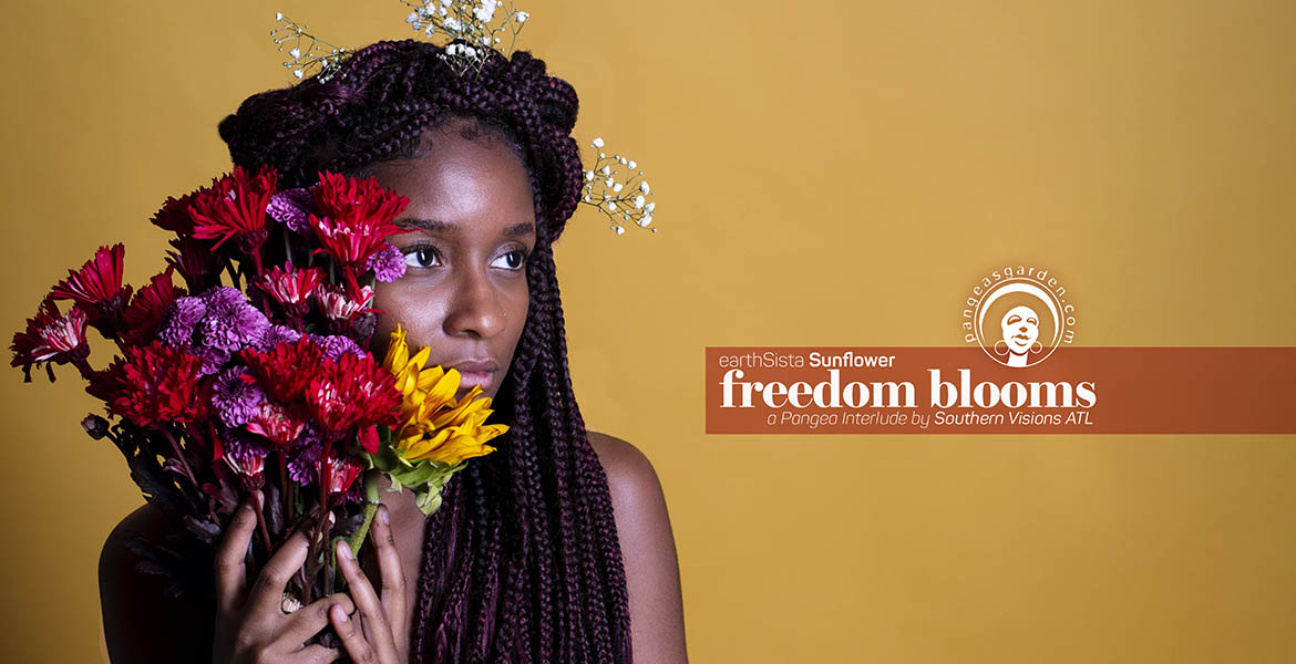 pgp445: earthSista Sunflower… freedom blossoms interlude
