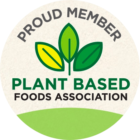 Proud Member of the Plant-Based Foods Association