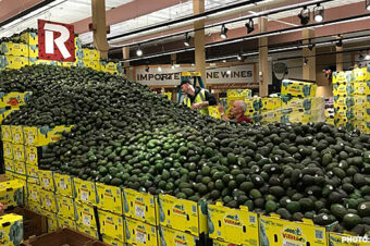 World's Largest Avocado Display at Rouses Market!