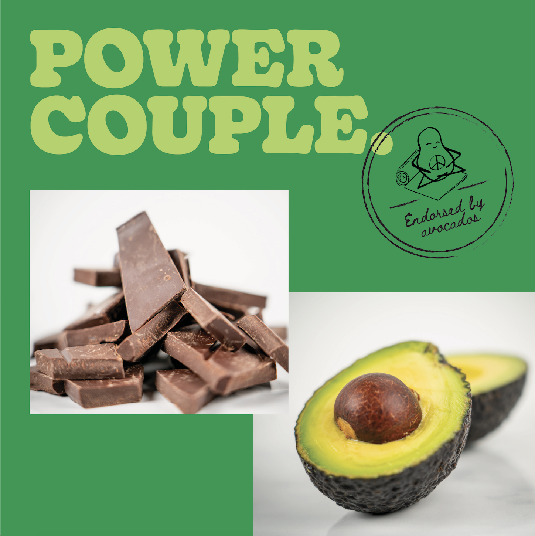 Avocados + Chocolate = Iconic Duo