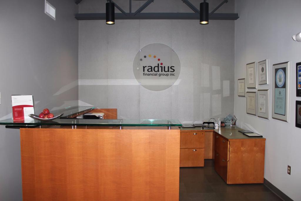 Radius Financial Group construction project Waltham MA