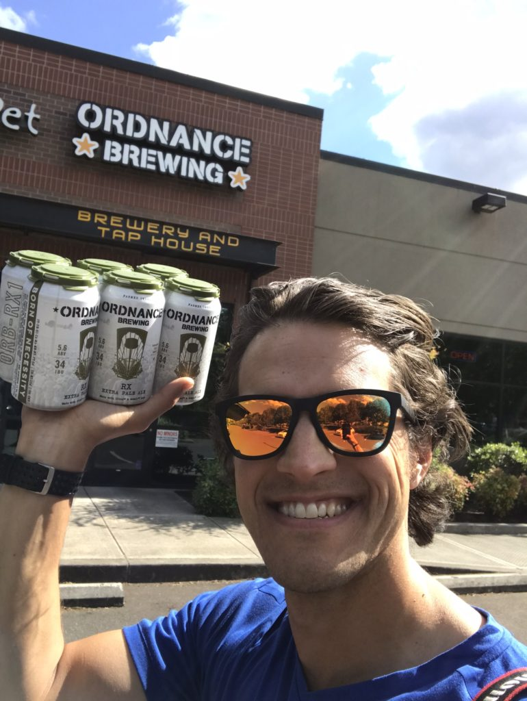 Nathan at Ordnance Brewing