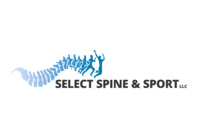 Select Sport and Spine logo