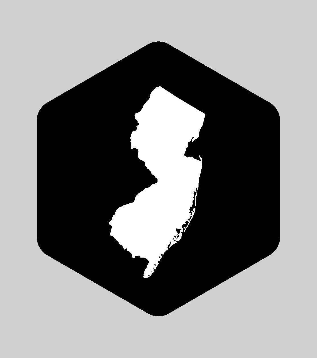 NJ Brewery Running Series hexagon logo