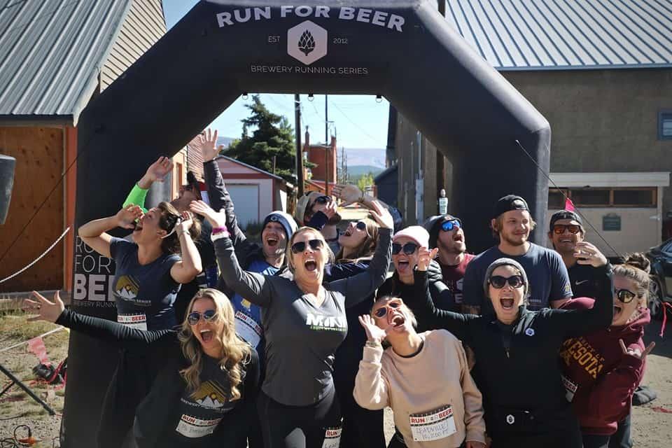 Brewery running Series Team