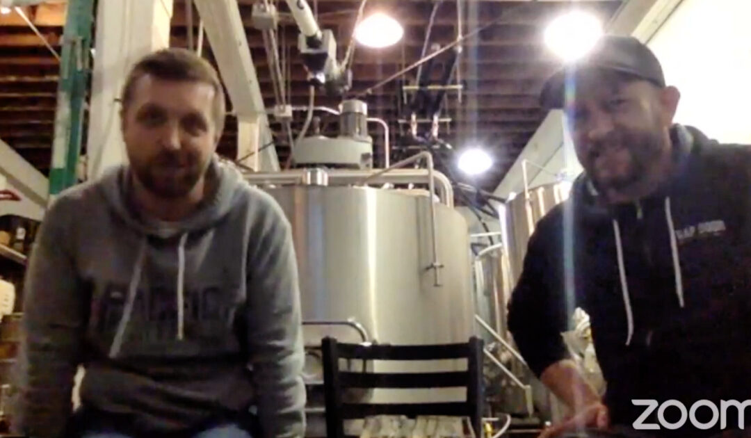 Beer Tasting and more with Mike Parsons from Trap Door Brewing