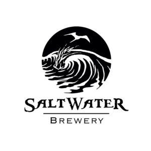 saltwater brewery beer run event logo