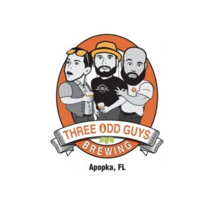 three odd guys brewing beer run event logo
