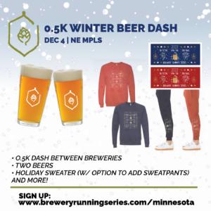 Winter Beer Dash Promo