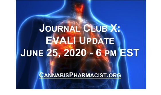 Journal Club X: EVALI Hospitalization Update
