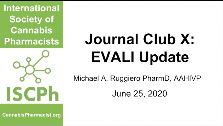 Journal Club X: EVALI Update