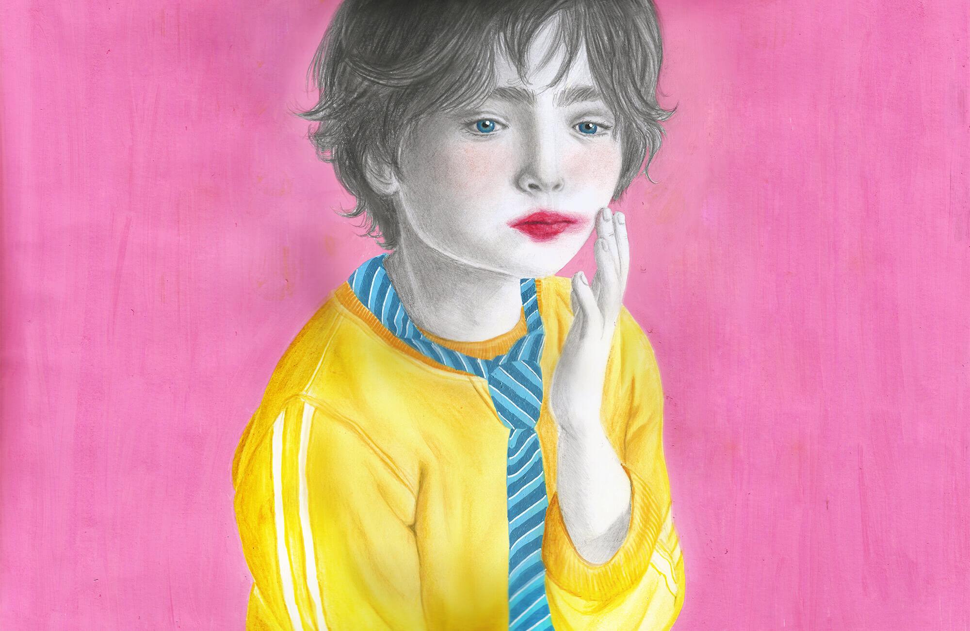 Pencil + Posca + Pastel + Coloured Pencil
