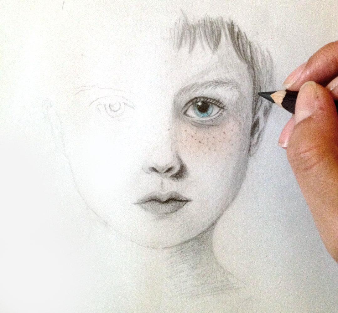 Pencil + Pastel