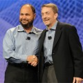 "Paul Moritz ""formally hands over"" VMware to new CEO Pat Gelsinger at VMworld"