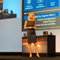 Renee Bergeron, senior vice president of global cloud channel at Ingram Micro