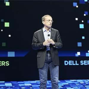 VMware CEO Pat Gelsinger at VMworld 2018