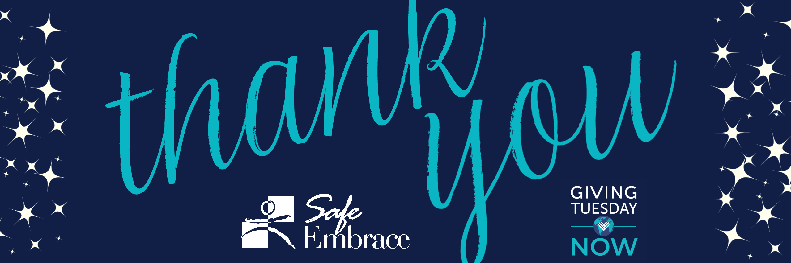 Thank you for donating to Safe Embrace