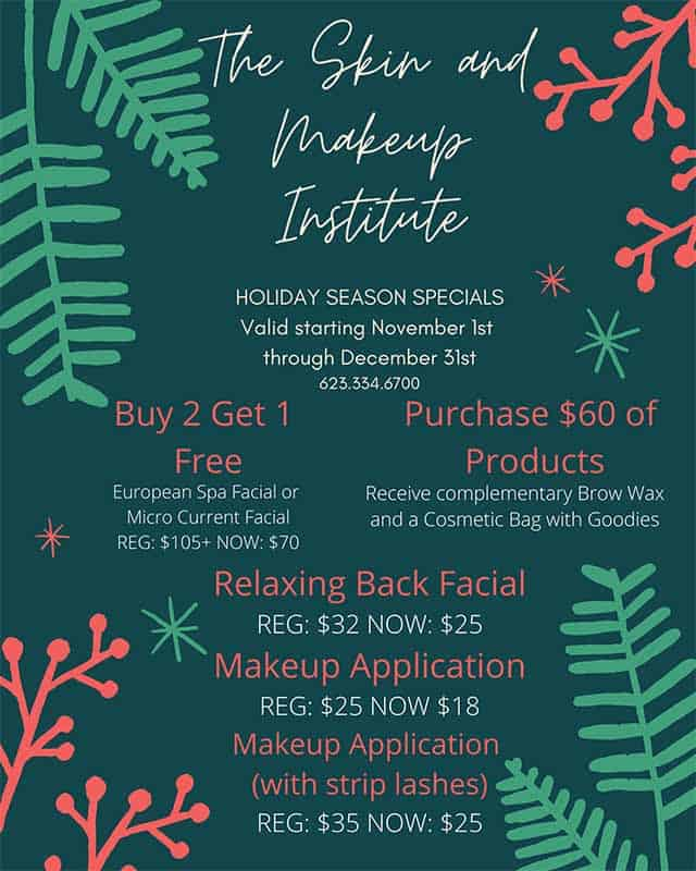 Holiday Specials 2020-Skin and Makeup Institute