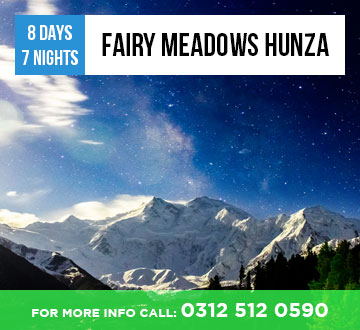 Fairy Meadows Hunza Tour Package