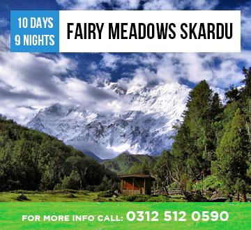 Fairy Meadows Skardu Tour Package