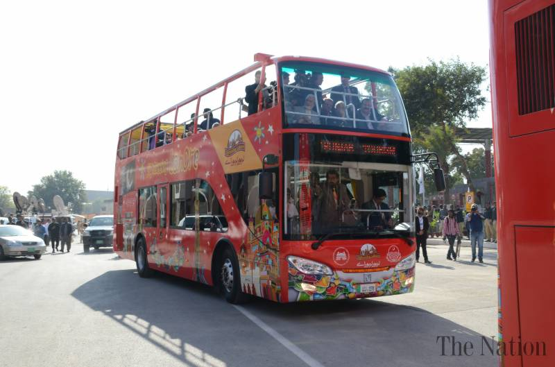 Lahore sightseeing bus