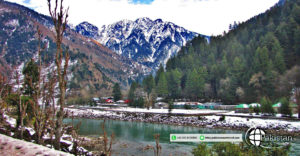 Keran village in neelum valley