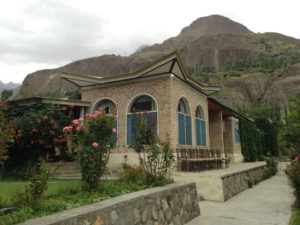 Diran Guest House Hunza Outdoor View in Minapin