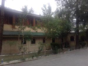 Shangrila Chilas hotel outdoor View in chilas region